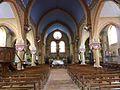 146 La Rochemillay Eglise paroissiale Saint-Pierre Vue intérieure.JPG