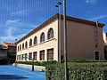 149 Escoles Salvador Lluch (Gavà), edifici nord, vist del del c. Sant Joan.JPG
