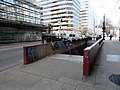 14th Street stairs to 12th Street station, February 2018.JPG