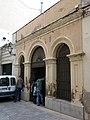 158 Peixateria Vella (Vilanova i la Geltrú), façana del c. Arquebisbe Armanyà.jpg