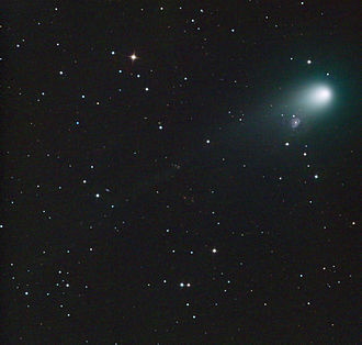 168P/Hergenrother - 168P/Hergenrother during its 2012 outburst. By Mount Lemmon Observatory.