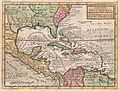 1732 Herman Moll Map of the West Indies and Caribbean - Geographicus - WestIndies-moll-1732.jpg