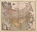 1739 map of Russia and Tartary by Johann Matthias Hase.jpg