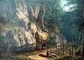 1800 Hackert Wald- und Felsenlandschaft mit zwei Kriegern anagoria.JPG