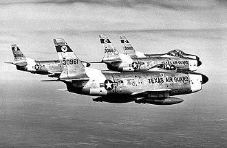 182d Fighter Squadron - 182d F-86L Sabre Interceptors, 1959