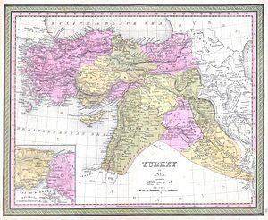 Eyalet - 1849 map