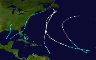 1872 Atlantic hurricane season hurricane season in the Atlantic Ocean