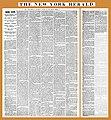 18730823 French Fervor - Bernadette Soubirous - The New York Herald.jpg