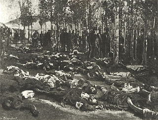Hamidian massacres massacres of Armenians in the Ottoman Empire which took place in the mid-1890s
