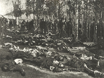 Corpses of massacred Armenians in Erzurum in 1895. 1895erzurum-victims.jpg