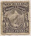 1898 pictorial halfpence purple (Mt Cook).JPG