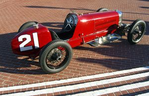 Harry Miller (auto racing) - 1925 Miller 122 Indianapolis 500 racer
