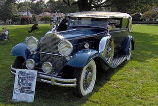 Packard Eight Motor vehicle