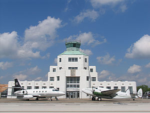 William P. Hobby Airport - The 1940 Air Terminal Museum, originally an air terminal opened in 1940