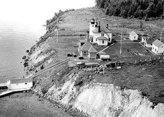 Raspberry Island Light - Image: 194xrasp