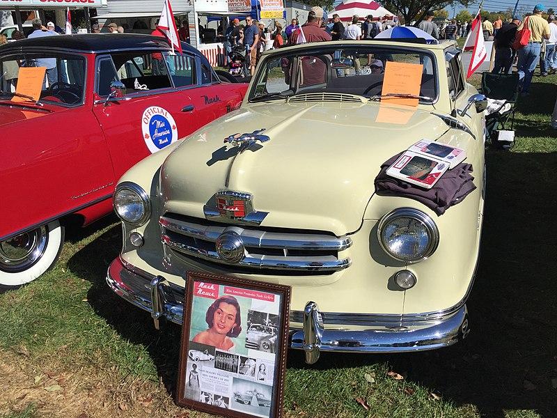 File:1951 Nash Rambler Custom convertible at 2015 AACA Eastern Regional Fall Meet 1of9.jpg