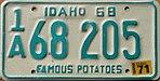 1968-70 Idaho License Plate.jpg