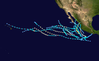 1981 Pacific hurricane season hurricane season in the Pacific Ocean