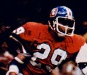 Bernard Jackson (defensive back) - Jackson playing for the Broncos in Super Bowl XII