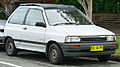 1988 Mazda 121 (DA) Fun Top 3-door hatchback (2012-01-15).jpg