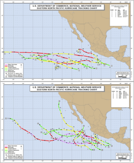 Timeline of the 1991 Pacific hurricane season