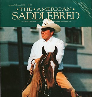 A Celebration of Horses: The American Saddlebred An episode of the one thousand nine hundred ninety-third season of A Celebration of Horses