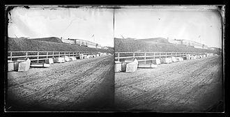 Fort Hamilton - Shore at Fort Hamilton, Brooklyn, ca. 1872-1887