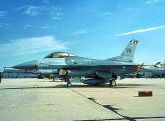 19th Fighter Squadron - F-16C Block 42F Fighting Falcon 89-2098 about 2000 at Shaw AFB