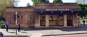 Museum railway station - Image: 1 Museum Station