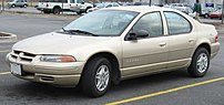1995-2000 Dodge Stratus photographed in USA.