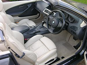 BMW 6 Series (E63) - 2005 645Ci interior