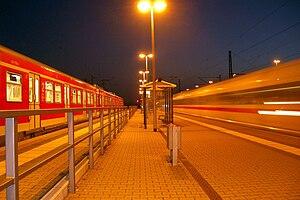 S7 (Rhine-Main S-Bahn) - S7 at Groß-Gerau-Dornberg station