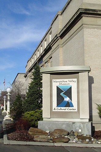 Wenatchee Valley Museum & Cultural Center - Image: 2007 MUSEUM small