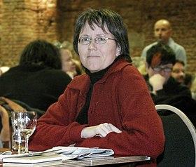 Brigitte Wolf am 16. Feburar 2008 in München