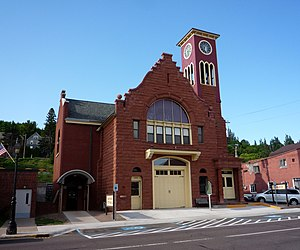 Hancock, Michigan - The Hancock Town Hall and Fire Hall is listed on the National Register of Historic Places.