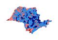 2010 Brazilian presidential election results - São Paulo.PNG