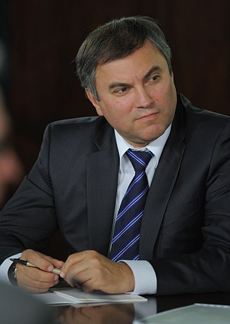 7th State Duma of the Russian Federation - Chairman Vyacheslav Volodin (UR)