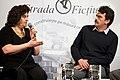 2012, Lansarea romanului Cevengur, cu Viorel Zaicu.jpg