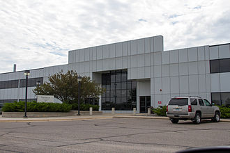 Hutchinson Technology - Hutchinson Technology headquarters, Hutchinson, Minnesota.