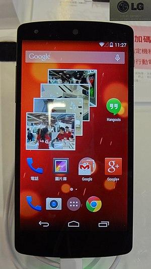 Nexus 5 - Nexus 5, LG-D821 model (international)