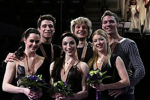 2013 World Figure Skating Championships - The ice dancing medalists