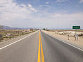 2014-07-17 12 13 22 View west along U.S. Route 6 and north along U.S. Route 95 at the border between Nye County and Esmeralda County in Tonopah, Nevada.JPG