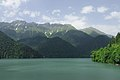 2014 Reliktowy Park Narodowy Rica, Widok na jezioro Rica od strony południowo-zachodniej (06).jpg