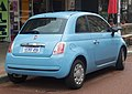 2015 Fiat 500 Pop hatchback (2018-09-03) 02.jpg