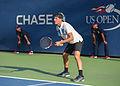 2015 US Open Tennis - Qualies - Jose Hernandez-Fernandez (DOM) def. Jonathan Eysseric (FRA) (20955950832).jpg