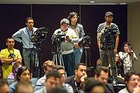 2015 Wikimania press conference-15.jpg
