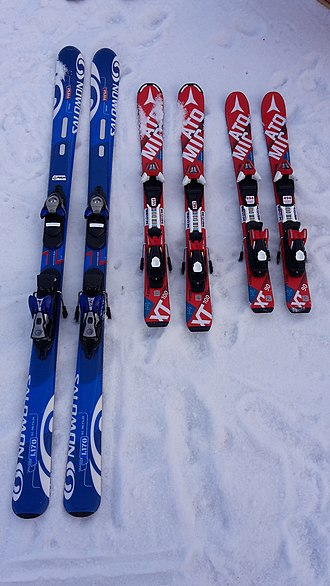 Atomic Skis - Salomon and Atomic