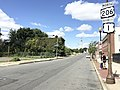 2017-09-09 13 29 38 View north along U.S. Route 1 Business and U.S. Route 206 (North Broad Street) at Perry Street in Trenton City, Mercer County, New Jersey.jpg