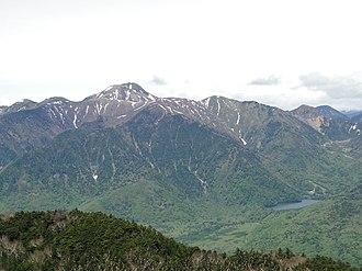 Mount Nikkō-Shirane - Image: 2017 0603 1031 dsc 03401
