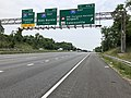 2019-06-05 12 46 16 View north along Interstate 95 at Exit 47A-B (Interstate 195 EAST, BWI Thurgood Marshall Airport, Maryland State Route 166, Catonsville) in Arbutus, Baltimore County, Maryland.jpg